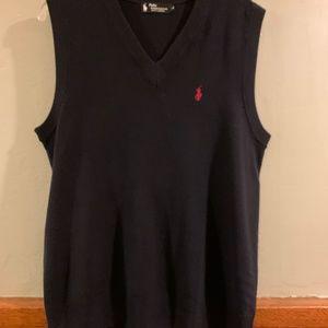 Polo Ralph Lauren Black Label Cashmere Vest sz L